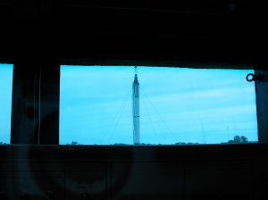 View of Mercury from Firing Room