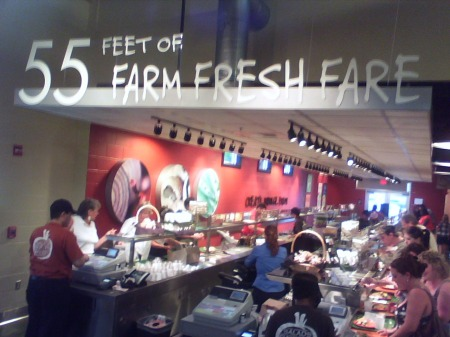 55 Feet of Farm Fresh Fare