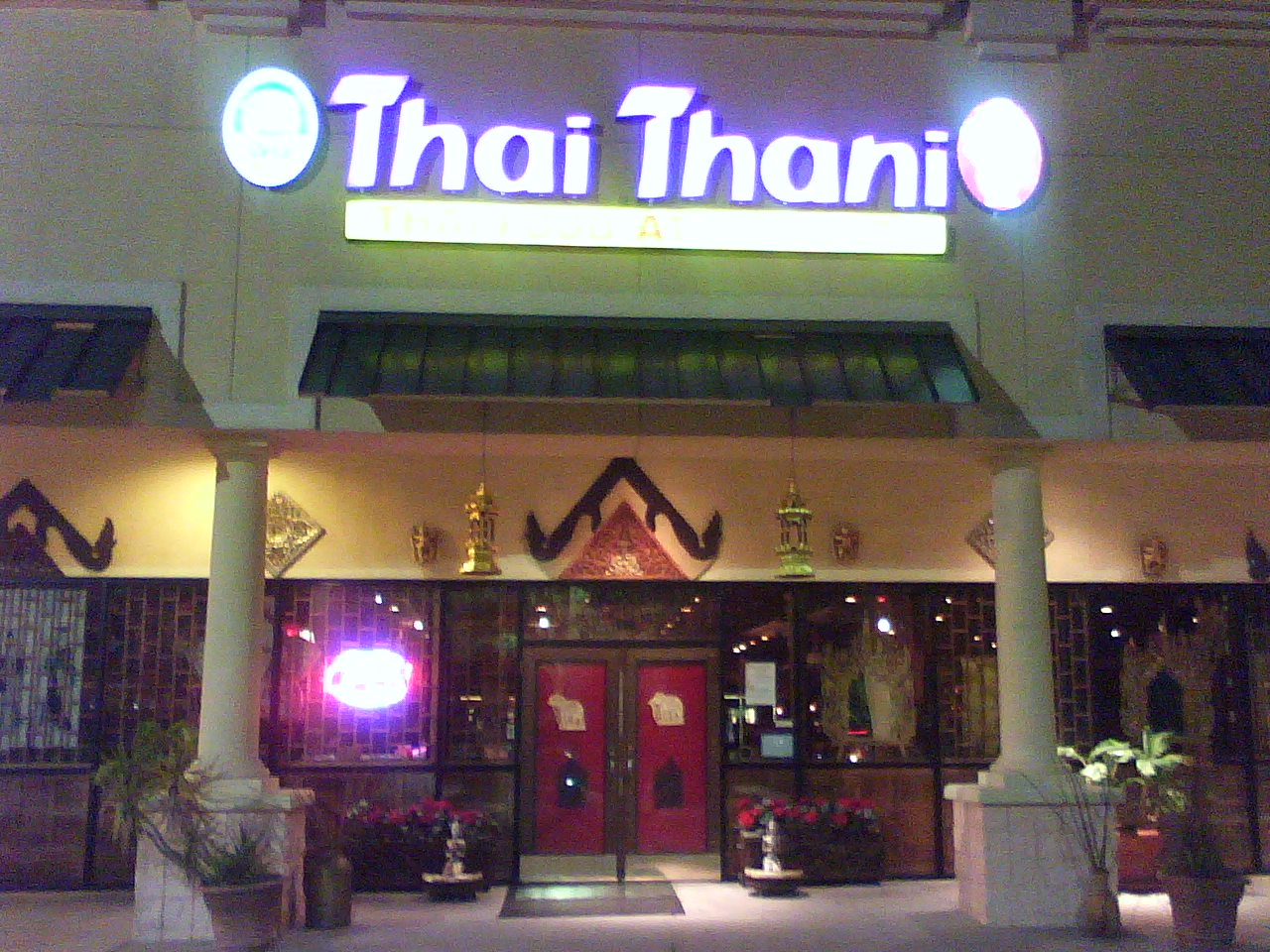 thai restaurant near disney world