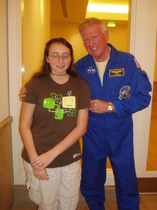 # 1 Daughter with the Astronaught
