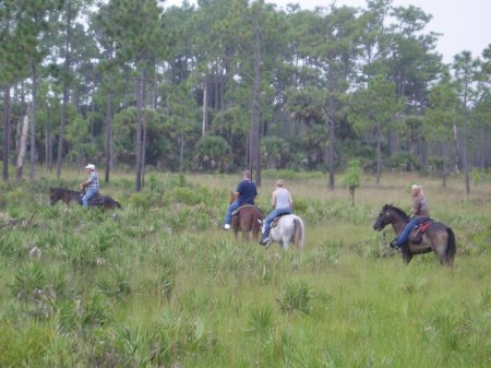 Horseback Safari at Forever Florida