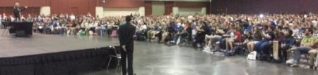 Sir Patrick Stewart Addresses Over 4000+ Faithful at MegaCon 2013