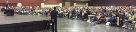 Sir Patrick Stewart Addresses Over 4000+ Faithful at MegaCon 2013