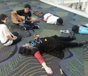Chillin at MegaCon