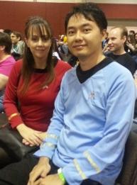 Star Trek Uniforms Were Ubiquitous