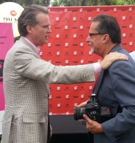 Cary Greets FFF President Henry Maldonado
