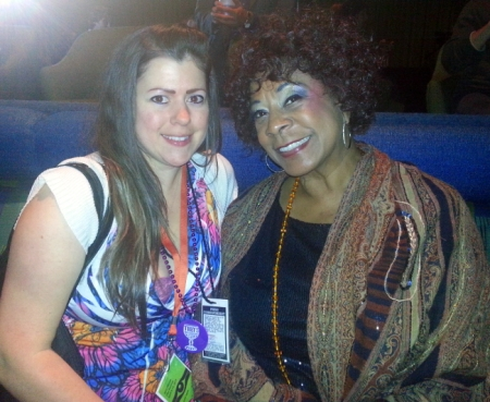 SunnyStefani Interviews Merry Clayton Opening Night of the FFF 2013