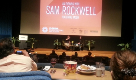 Sam Rockwell is Interviewed on the Enzian Stage