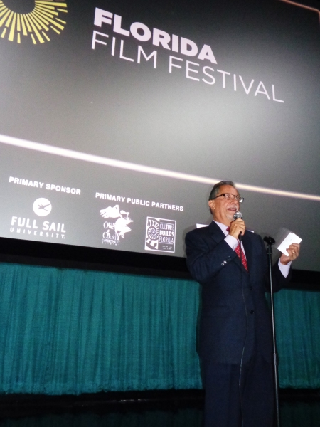 FFF President Henry Maldonado Opens the 25th Annual Festival