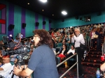 The Theatre was Packed